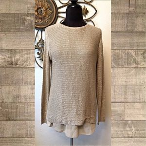 🌸 5/$20 Sioni Zipper Sweater Small